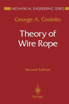 Theory of Wire Rope - Costello, George A.