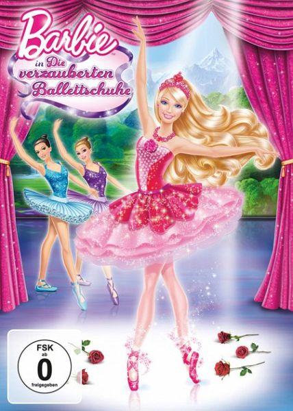 barbie in die verzauberten ballettschuhe auf dvd. Black Bedroom Furniture Sets. Home Design Ideas