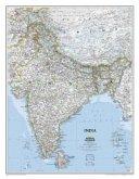 National Geographic Map India, Planokarte