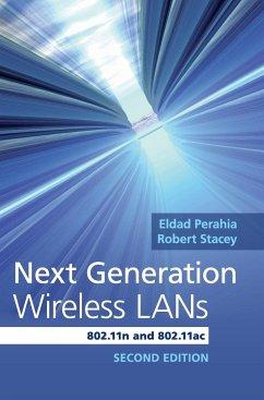 Next Generation Wireless LANs - Perahia, Eldad; Stacey, Robert