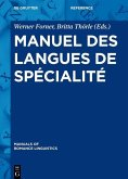 Manuel des langues de spécialité