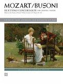 Mozart/Busoni: Duettino concertante, 4-hdg. an 2 Klavieren
