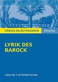 Lyrik des Barock.
