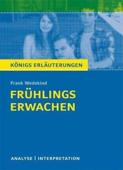 Frühlings Erwachen von Frank Wedekind. - Wedekind, Frank
