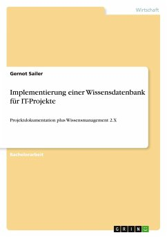 Implementierung einer Wissensdatenbank für IT-Projekte