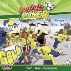 Rettet Blau-Gelb! / Teufelskicker Hörspiel Bd.41 (1 Audio-CD)