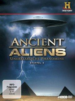 Ancient Aliens - Unerklärliche Phänomene, Staffel 3 (4 Discs)