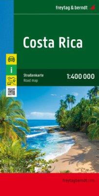 Freytag & Berndt Autokarte Costa Rica