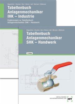 Paketangebot Tabellenbuch Anlagenmechaniker SHK - Handwerk + Tabellenbuch Anlagenmechaniker IHK-Industrie - Bruckes, Markus; Bux, Hermann; Hense, Bertram; Laß, Hans-Peter; Mertsch, Karl-Heinz; Wellmann, Uwe