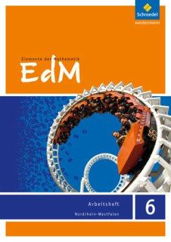 Elemente der Mathematik 6. Arbeitsheft. Nordrhein-Westfalen