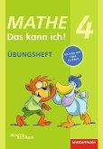 Mathe - Das kann ich! Übungsheft Klasse 4