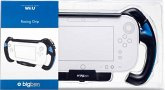 Racing Grip für das Nintendo Wii U GamePad, Lenkrad-Aufnahme, schwarz