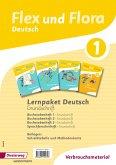 Flex und Flora 1. Paket Deutsch. Grundschrift