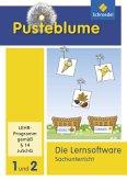 Die Lernsoftware Sachunterricht 1 und 2, CD-ROM / Pusteblume. Das Arbeitsbuch Sachunterricht, Allgemeine Ausgabe 2013