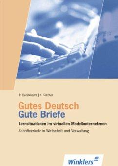 Gutes Deutsch, Gute Briefe, 1 CD-ROM
