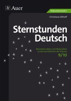 Sternstunden Deutsch 9-10 - Althoff, Christiane