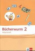 Bücherwurm Sprachbuch. Arbeitsheft 2. Schuljahr