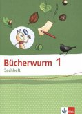 Bücherwurm Sachheft. Arbeitsheft 1. Schuljahr. Ausgabe für Brandenburg, Sachen-Anhalt und Thüringen