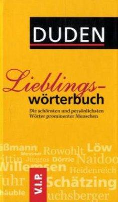 DUDEN. Lieblingswörterbuch (Mängelexemplar)