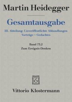 Gesamtausgabe. 4 Abteilungen - Heidegger, Martin
