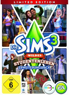 Die Sims 3: Wildes Studentenleben - Limited Edition (Add-On PC)