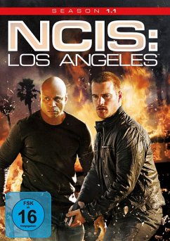NCIS: Los Angeles - Season 1.1 (3 Discs) - Hunt,Linda/O'Donnel,Chris/Ruah,Daniela
