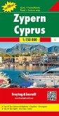 Freytag & Berndt Auto + Freizeitkarte Zypern; Cyprus