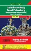 Freytag & Berndt Stadtplan St. Petersburg; Saint-Pétersbourg; San Pietroburgo
