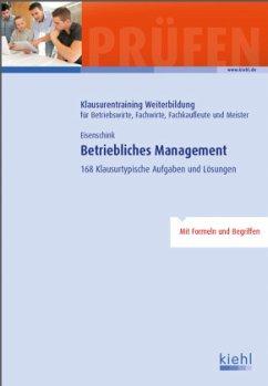Betriebliches Management - Eisenschink, Christian