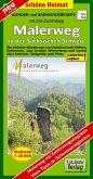 Doktor Barthel Karte Malerweg in der Sächsischen Schweiz