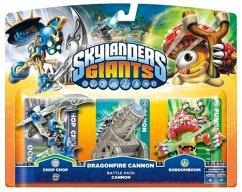 Skylanders: Giants - Battle Pack - Chop Chop, Shroomboom, Cannon Piece