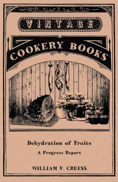 Dehydration of Fruits - A Progress Report