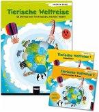 Tierische Weltreise, Paket (Buch und 2 Lieder-CDs)