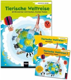 Tierische Weltreise, Paket (Buch und 2 Lieder-CDs) - Bond, Andrew