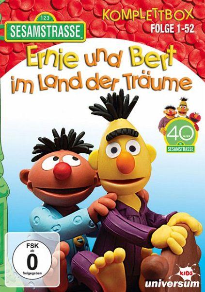 Sesamstraße - Ernie und Bert im Land der Träume Komplettbox Folge 1-52 4 Discs