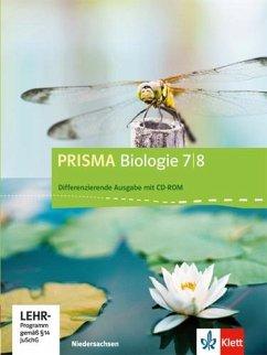 Prisma Biologie. Ausgabe für Niedersachsen - Differenzierende Ausgabe. Schülerbuch mit CD-ROM 7./8. Schuljahr
