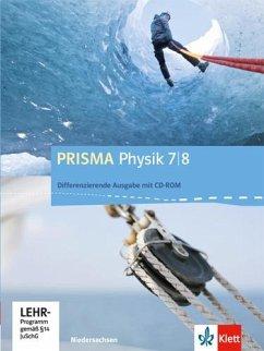 Prisma Physik. Ausgabe für Niedersachsen - Differenzierende Ausgabe / Schülerbuch mit Schüler-CD-ROM 7./8. Schuljahr