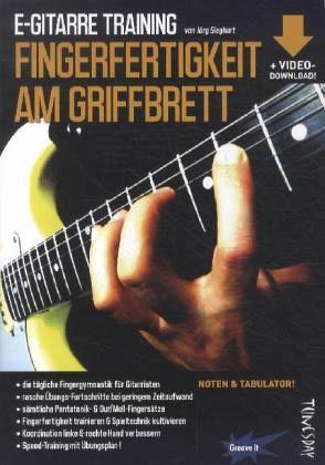 E-Gitarre Training - Sieghart, Jörg