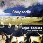 Rhapsodie-Werke Für Oboe & Englischhorn