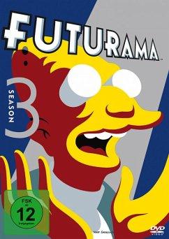 Futurama - Season 3 DVD-Box