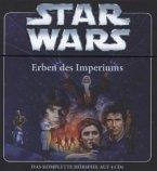 Star Wars - Erben des Imperiums / Thrawn-Trilogie Bd.1 , 4 Audio-CDs