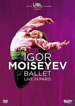 Igor Moiseyev Ballet - Live in Paris - Moiseyev,Igor Ballet