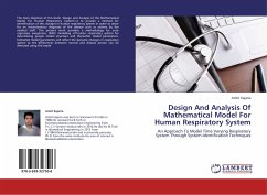 Design And Analysis Of Mathematical Model For Human Respiratory System