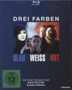 Drei Farben Trilogie-Box BLU-RAY Box