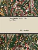 Valse-Caprices No. 1-4 - For Solo Piano