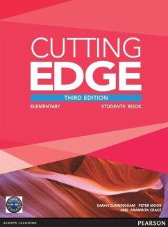 Cutting Edge Elementary Students' Book with DVD - Moor, Peter; Crace, Araminta; Cunningham, Sarah
