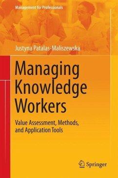 Managing Knowledge Workers - Patalas-Maliszewska, Justyna