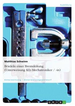 Bördeln einer Bremsleitung (Unterweisung Kfz-Me...