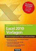 Excel 2010 Vorlagen (eBook, PDF)
