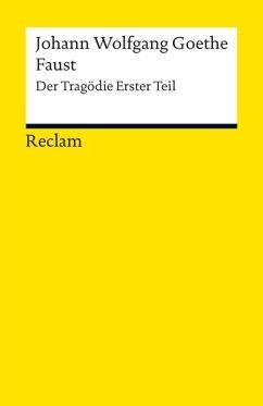 Faust. Erster Teil (eBook, ePUB) - Goethe, Johann Wolfgang